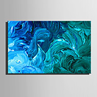 Handgeschilderde Abstract Horizontaal,Europese Stijl Modern Eén paneel Canvas Hang-geschilderd olieverfschilderij For Huisdecoratie