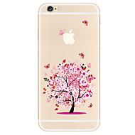 billiga Mobil cases & Skärmskydd-fodral Till Apple iPhone X iPhone 8 Plus iPhone 5-fodral iPhone 6 iPhone 7 Mönster Skal Träd Mjukt TPU för iPhone X iPhone 8 Plus iPhone