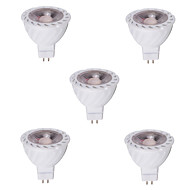 gu5.3 (mr16) led spotlight mr16 1 cob 480lm sıcak beyaz soğuk beyaz 2700-6500k dekoratif dc 12v