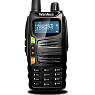 billige Walkie-talkies-Wanhua gts710 walkie talkie vhf 136-174mhz uhf 400-480mhz 128ch 5W vox DTMF bærbare transceiver toveis radio