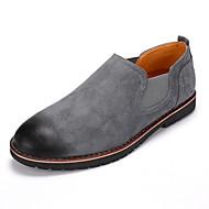 ieftine -Bărbați Pantofi Piele de Căprioară Primăvară Toamnă Confortabili Cizme la Modă Mocasini & Balerini Găuri pentru Casual În aer liber Party