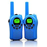 walkie talkie for barn 22 kanaler og holdbar (opp til 5km i åpne områder) fargerike walkie talkie for barn (1 par) t668