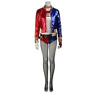 Superhelden Cosplay Cosplay Kostuums Sokken en kousen Hallloween figuren Heren Dames Film cosplay Rood Jas Top Broeken Kerstmis Halloween Carnaval Spandex Leder