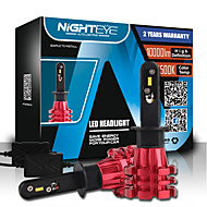 economico Luci per auto-NIGHTEYE H1 Lampadine 60W COB 10000lm LED Lampada frontale