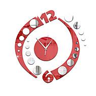 Modern / Contemporary Przypadkowy Inne Kwiatowe / Botanicals Postacie Muzyka Zegar ścienny,Nowość Akrylowy Indoor / Outdoor Zegar