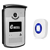 billige Dørtelefonssystem med video-1.0 125 CMOS Dørklokkesystem Trådløs Multifamilie Video Ringeklokke