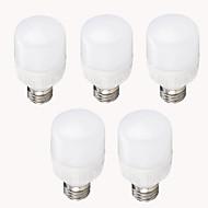 billige Kornpærer med LED-EXUP® 11W 950-1000 lm E26/E27 LED-kornpærer T 12 leds SMD 2835 Dekorativ Varm hvit Kjølig hvit AC 220-240V