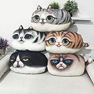 cheap Novelty Pillows-1 pcs Cotton Velvet Novelty Pillow, Animal Print Casual