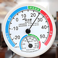 צבע אקראי טמפרטורה מקורה מטר לחות גבוהה ביתיים מינג דייקנות מד לחות טמפרטורה מינית
