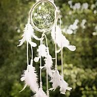 1pcs mais novo net apanhador handmade sonho com penas penduradas sinos de vento decoração decoração de presente de artesanato