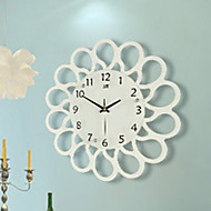 Contracted Rural Wall Clock Creative Mute When Sitting Room Watch Modern  Art Decorative Wall Clock Quartz Bracket Clock