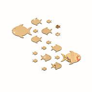 Χαμηλού Κόστους Top Selling Wall Stickers-Ζώα Καθρέφτες Μόδα Αυτοκολλητα ΤΟΙΧΟΥ 3D Αυτοκόλλητα Τοίχου Αυτοκόλλητα Τοίχου Καθρέφτης Διακοσμητικά αυτοκόλλητα τοίχου,Γυαλί Υλικό