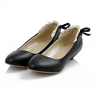 cheap -Women's Shoes PU / Leatherette Spring / Summer Novelty / Comfort Flats Walking Shoes Flat Heel Pointed Toe for Wedding / Office & Career