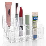 voordelige -Make-up opbergsysteem Acryl Oranjegeel Anderen 14.5*9.5*7.5