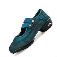 Sapatos de Dança(Preto Verde Vermelho) -Feminino-Não Personalizável-Moderna