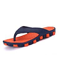 슬리퍼 플립 플롭-사무실 & 커리어 캐쥬얼-남성-조명 신발-PU-플랫