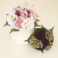 Beautiful Man-made Rose Peony Bouquet Wedding Accessories Chic & Modern