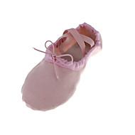 billige Ballettsko-Ballettsko Tekstil Flate Flat hæl Kan ikke spesialtilpasses Dansesko Rød / Grønn / Rosa / Innendørs / Ytelse / Trening