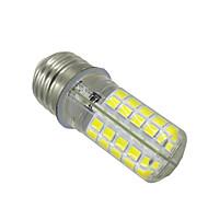 billige Bi-pin lamper med LED-1pc 5W 400-500 lm E14 G9 E26/E27 BA15d LED-lamper med G-sokkel T 80 leds SMD 5730 Mulighet for demping Dekorativ Varm hvit Kjølig hvit