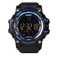スタンバイ/歩数計/アラームクロック/距離追跡をtrackerlong新しいスポーツex16スマートブレスレットスマートブレスレット/スマート腕時計/アクティビティ