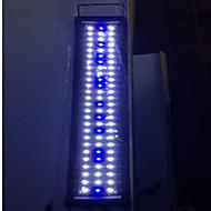אקווריומים תאורת לד לבן כחול חוסך באנרגיה 2 מצב מנורת לד 220V