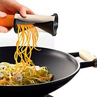 Χαμηλού Κόστους -Πλαστική ύλη Δημιουργική Κουζίνα Gadget για λαχανικών Αποφλοιωτή & τρίφτης