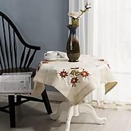 Kvadrat Brodert Duge , 100% Bomull MaterialeHotel Middagsbord Bryllups Selskap Dekor Bryllupsresepsjon Julen Dekor Favoritt Tabell