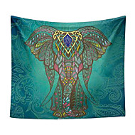 Elephant Printed Tapestries Decorative Indian Wall Carpet Tapesty