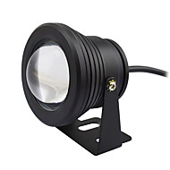 10w conduit lampe sous-marine ip67 chaud / froid piscine blanche aquarium poisson aquarium aquarium dc12v