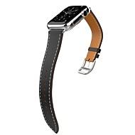 billiga Smart klocka Tillbehör-Klockarmband för Apple Watch Series 3 / 2 / 1 Apple Klassiskt spänne Äkta Läder Handledsrem