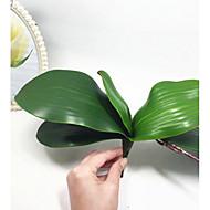 Konstgjorda blommor 1 Gren Pastoral Stil Orkidéer Bordsblomma