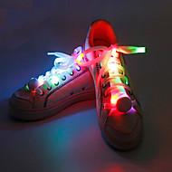 ieftine Echipament Reflectiv-lumini de securitate Banderolă LED de Alergare Șireturi Luminoase Dimensiune Compactă pentru Camping/Cățărare/Speologie Ciclism Alpinism