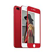 billiga Mobiltelefoner Skärmskydd-Skärmskydd Apple för iPhone 7 Plus Härdat Glas 1 st Displayskydd framsida 2,5 D böjd kant 9 H-hårdhet Högupplöst (HD)