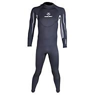WINMAX Homens 3mm Drysuits Macacão de Mergulho Longo Prova-de-Água Térmico/Quente Secagem Rápida Isolado Respirável Compressão Neoprene