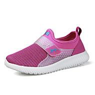 Damă Pantofi Tul Primăvară Vară Confortabili Pantofi de cuplu Adidași Alergare Toc Plat Vârf rotund Bandă Magică Pentru De Atletism Casual