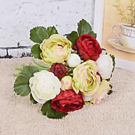 halpa -kaunis 13 pää Camellia kukkakimppu häät tarvikkeet