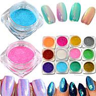 1bottle Neglekunst Dekoration Rhinsten Perler Makeup Kosmetik Neglekunst Design