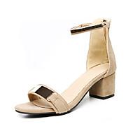 Sandaler-PU-D'Orsay og todelt-Damer--Kontor Formelt Fest/aften-Tyk hæl Blokhæl