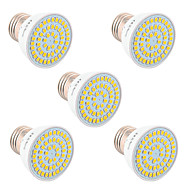 billige -YWXLIGHT® 5pcs 5W 400-500lm GU10 GU5.3(MR16) E26 / E27 LED-spotlys 54 LED Perler SMD 2835 Dekorativ Varm hvid Kold hvid Naturlig hvid
