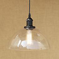 billige Takbelysning og vifter-Anheng Lys Omgivelseslys Malte Finishes Metall Glass Mini Stil, designere 110-120V / 220-240V Pære Inkludert / E26 / E27
