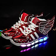 Jongens Schoenen Kunstleer Winter Zomer Oplichtende schoenen Sneakers LED Voor Bruiloft Sportief Causaal Formeel Feesten & Uitgaan Goud