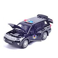 Taaksepäin vedettävät ajoneuvot Leluautot Rakennusajoneuvo Poliisiauto Lelut Ankka Auto Metalliseos Pieces Unisex Pojat Lahja