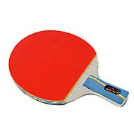 3 Sterne Ping Pang/Tischtennis-Schläger Ping Pang Holz Kurzer Griff Pickel