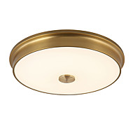 cheap Ceiling Lights & Fans-LightMyself 42CM(16.53'') LED 18W  Flush Mount Ceiling Lamp Warm and White Color Modern/Classic Rustic Bronze Feature for LED Metal Living Room