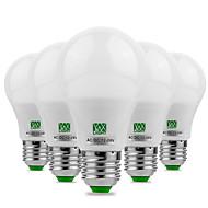 billige Globepærer med LED-YWXLIGHT® 5pcs 5W 400-500lm E26 / E27 LED-globepærer 10 LED perler SMD 5730 Dekorativ Varm hvit Kjølig hvit 12V 12-24V