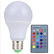 rgb ledランプe27 5w led rgbライトlampada ledバルブ85-265v smd5050 irのリモートコントローラで16色の変更