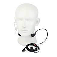 365 tilbehør TOT hals mikrofon mic ørestykket universel walkie talkie hovedtelefoner
