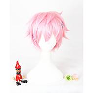 Short Pink The Animation Kisaragi Koi Synthetic 12inch Anime Cosplay Hair Wig CS-297B