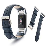 billiga Smart klocka Tillbehör-Klockarmband för Fitbit Charge 2 Fitbit Sportband Milanesisk loop Läder Handledsrem