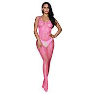 Žene Ultra seksi Noćno rublje Jednobojni-Tanko Najlon Spandex Blushing Pink